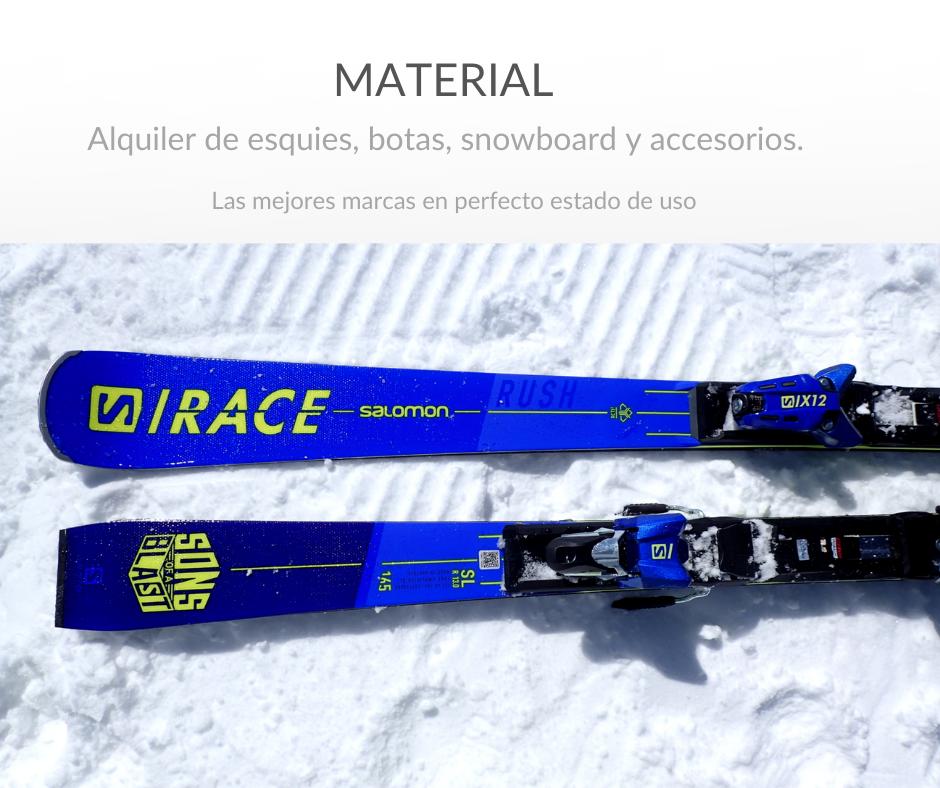 alquiler ski
